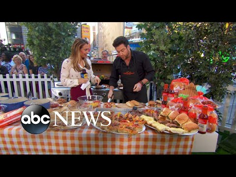 Chef Scott Conant shares summer cookout recipes on 'GMA'