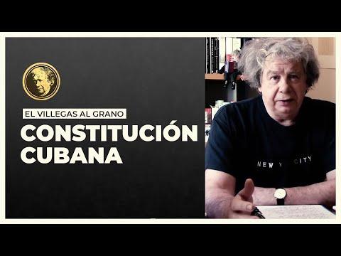 La nueva constitución cubana.