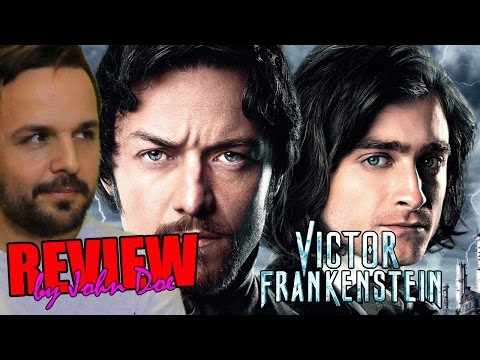 Victor Frankenstein – CRÍTICA – REVIEW – HD – John Doe – James McAvoy – Daniel Radcliffe