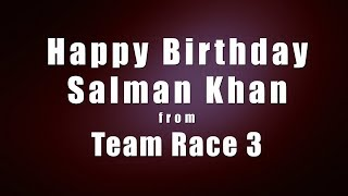 Birthday Surprise for Salman Khan