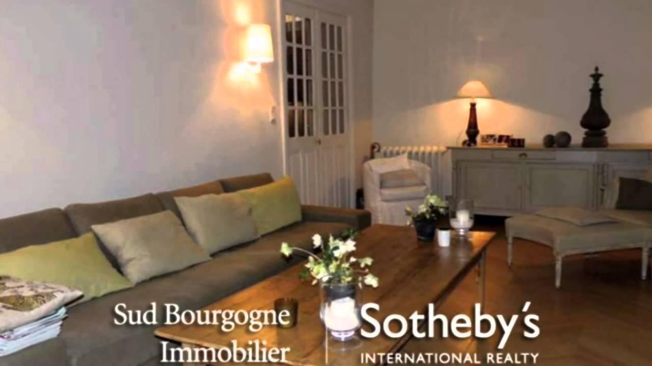 Maison a a vendre cluny france immeuble de ville achat for Achat de maison en france