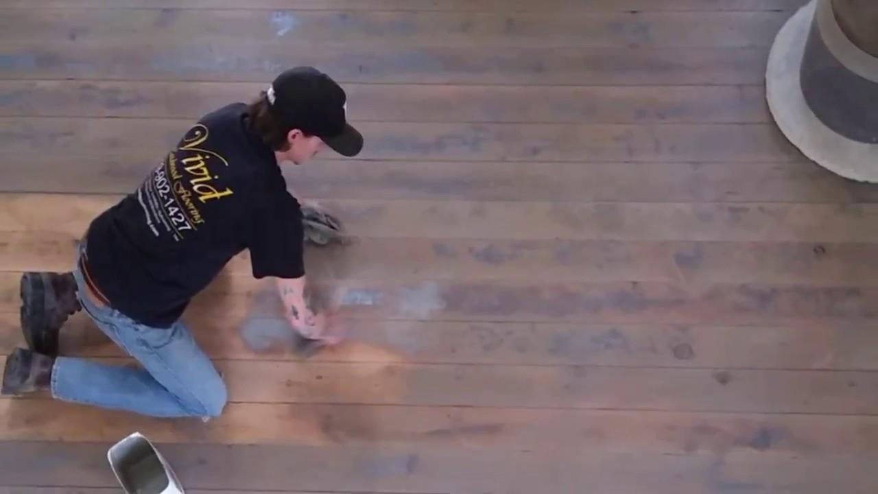 A true hand scraped hardwood floor youtube for True hardwood flooring