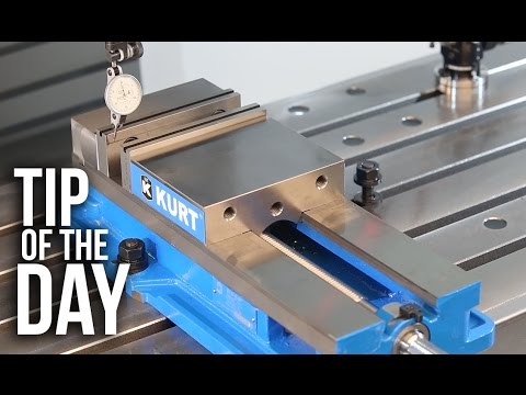 How to Square and Indicate a Vise on Your CNC Mill – Haas Automation Tip of the Day