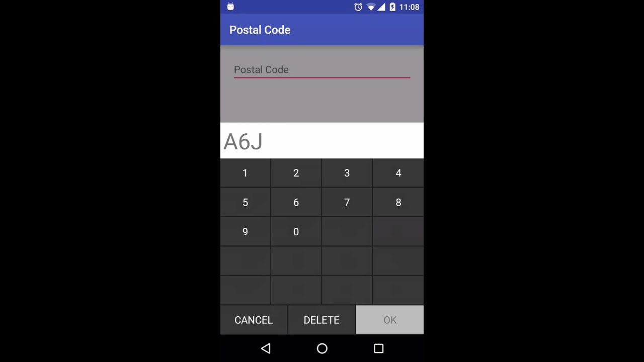Canadian Postal Code Keyboard Youtube
