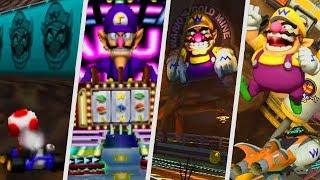 Evolution of Wario & Waluigi Courses in Mario Kart Games (1996 - 2018)
