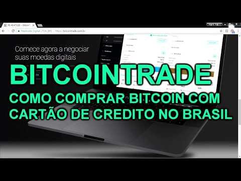 COMO COMPRAR BITCOIN COM CARTÃO DE CREDITO NO BRASIL?