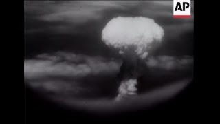 Atomic Bomb dropped on Nagasaki - 1945
