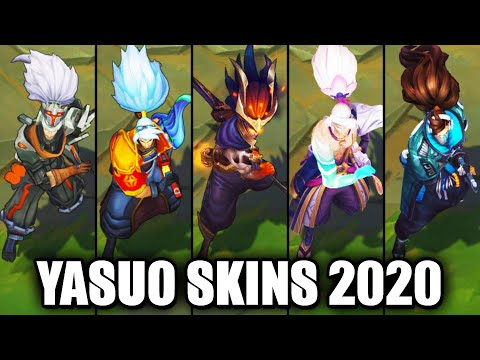 All Yasuo Skins Spotlight 2020 (League of Legends)