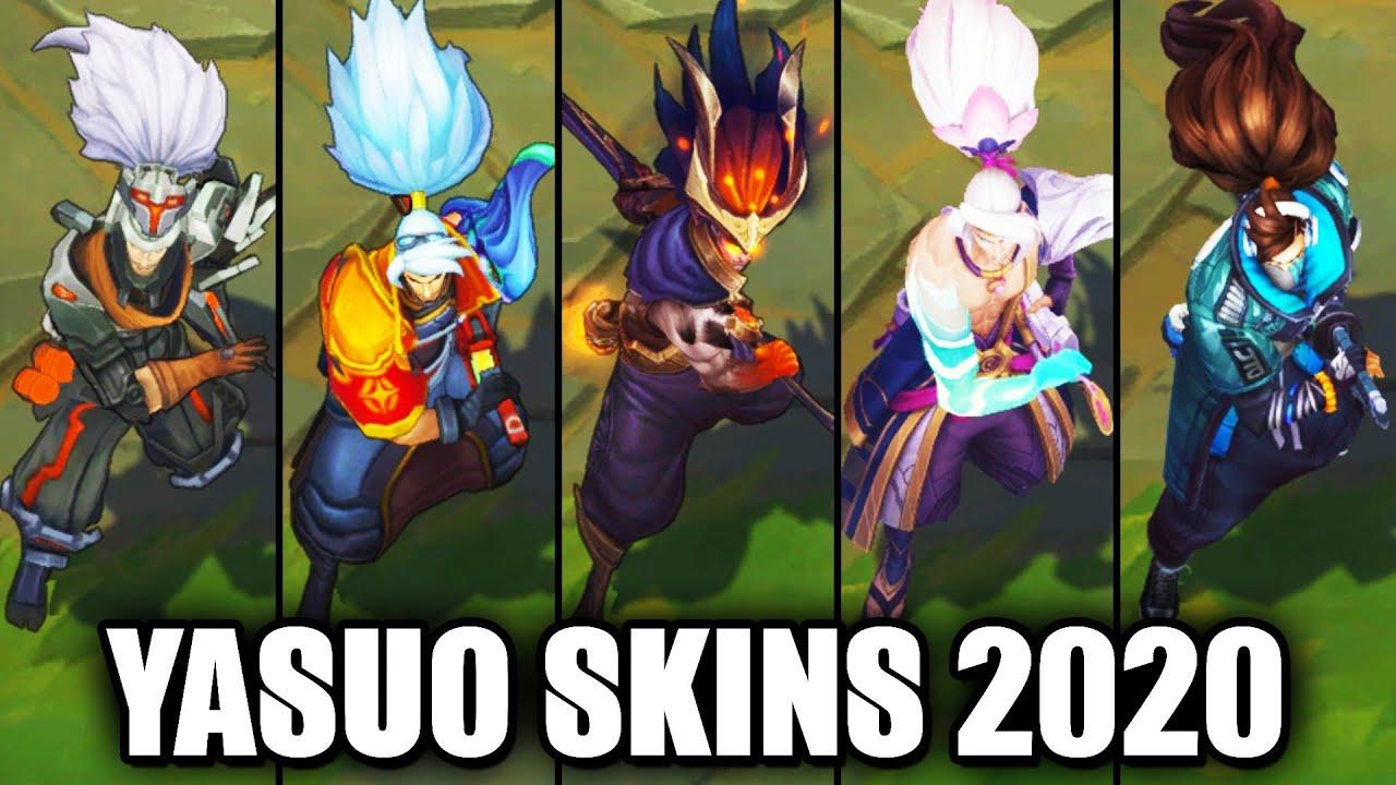 Lol Yasuo Skins