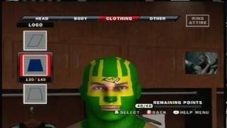 smackdown vs raw 2010 caw how to make kick ass part 2 5