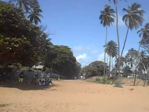 Novotel Beach in morning   Cayenne   French Guyana   June 2014