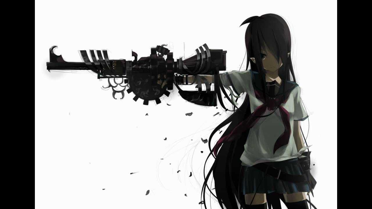 Girl Gun Desktop Wallpaper Nightcore 21 Guns Green Day Youtube