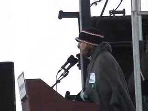 Cindy Sheehan, March on the Pentagon, March 17 2007