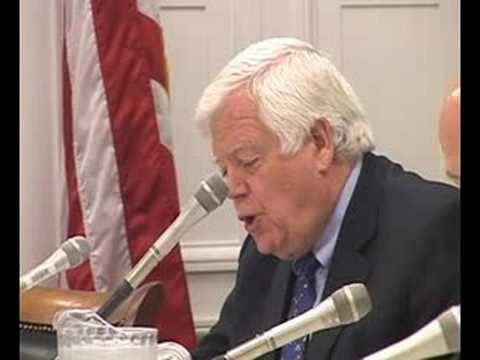 Rep. Jim McDermott, (D-WA) Congressional Committee Hearing