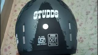 2018 Best Helmet under 2000 rs Studds Scorpion ISI and DOT Approved