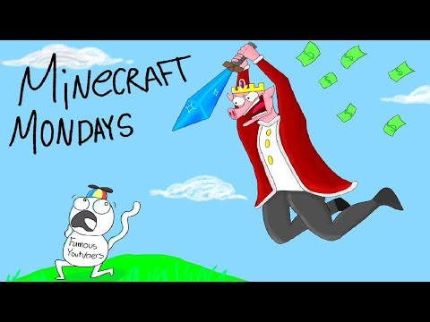 bullying famous youtubers in minecraft minigames