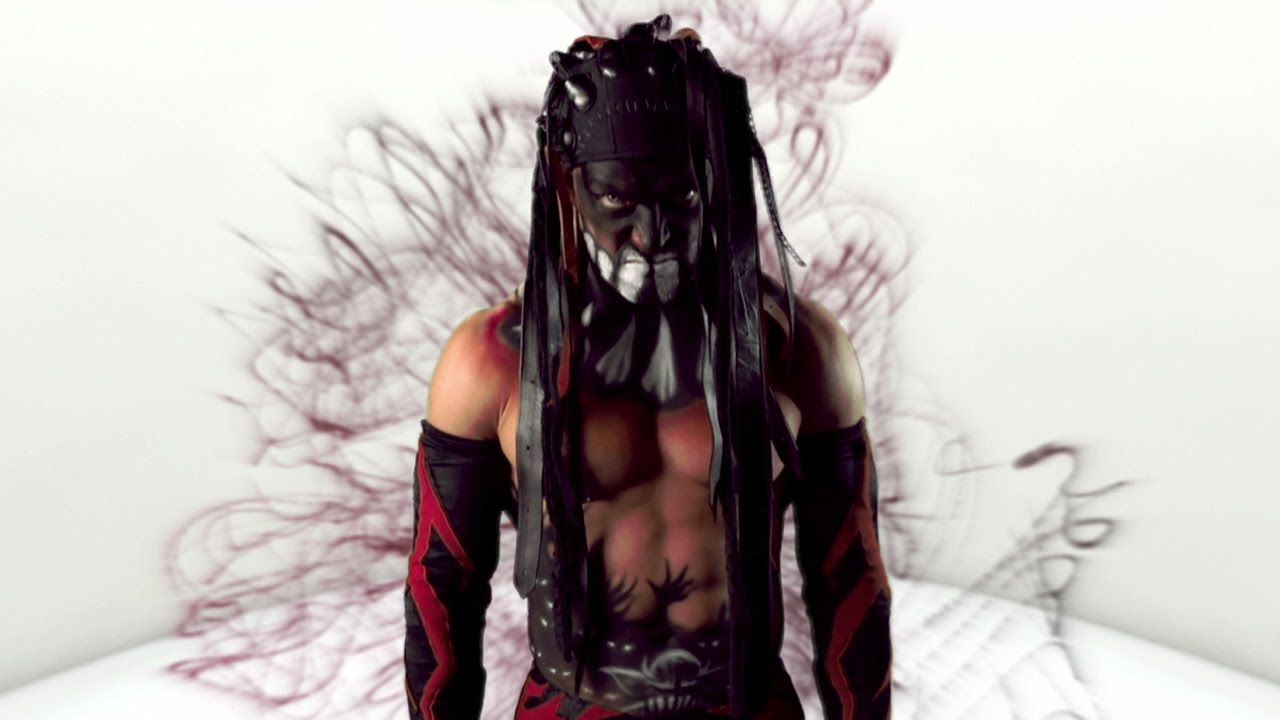 Finn Balor War Paint Wallpaper