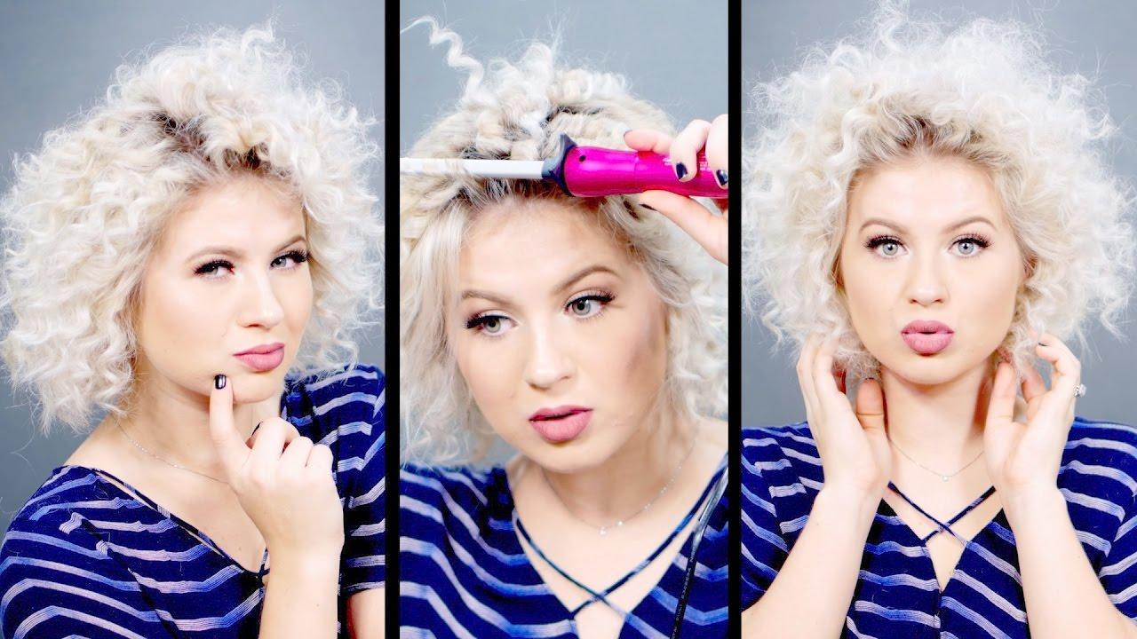 Creative Hairstyles Chopstick Curls Tutorial Milabu