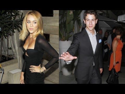 Miley Cyrus & Nick Jonas Spotted On Date!?!