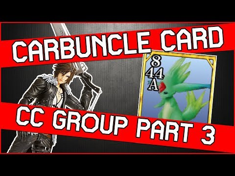 Get The Unique Carbuncle Card In Final Fantasy 8 Remastered - CC Group Quest Part 3
