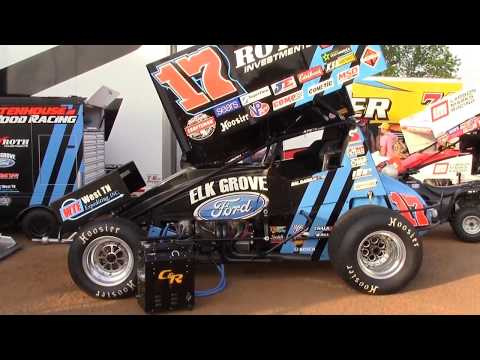 Williams Grove Speedway World of Outlaws  5-19-2017 (Highlights)