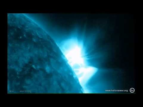 THE MOST MAJESTIC VIDEO ON YOUTUBE  -- THE SUN TODAY  -- 1 JANUARY 2013