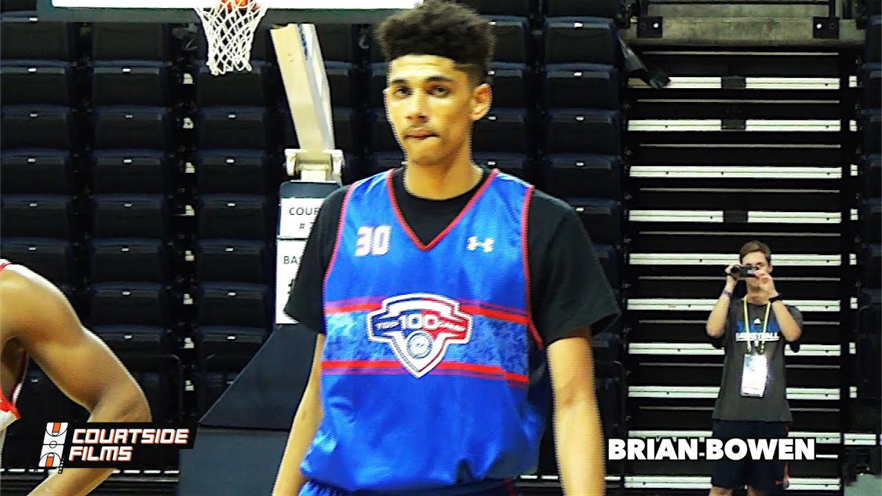 meet b039c 79f4f Brian Bowen (2017) Mixtape @ NBA Top 100 Camp