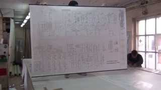 Плакат баннер.План эвакуации. Для монтажа используется профиль Snapfix.(, 2014-11-04T16:02:11.000Z)