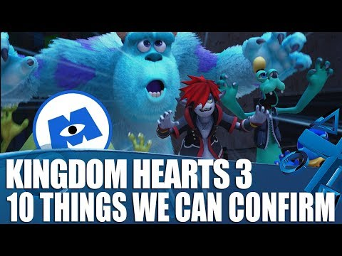 Kingdom Hearts 3 - 10 New Things we've had Confirmed