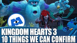 Kingdom Hearts 3 - 10 New Things We