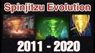 Evolution Of LEGO NINJAGO Spinjitzu ( 2011 - 2020 )
