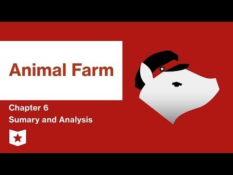 Animal Farm  | Chapter 6 Summary And Analysis | George Orwell
