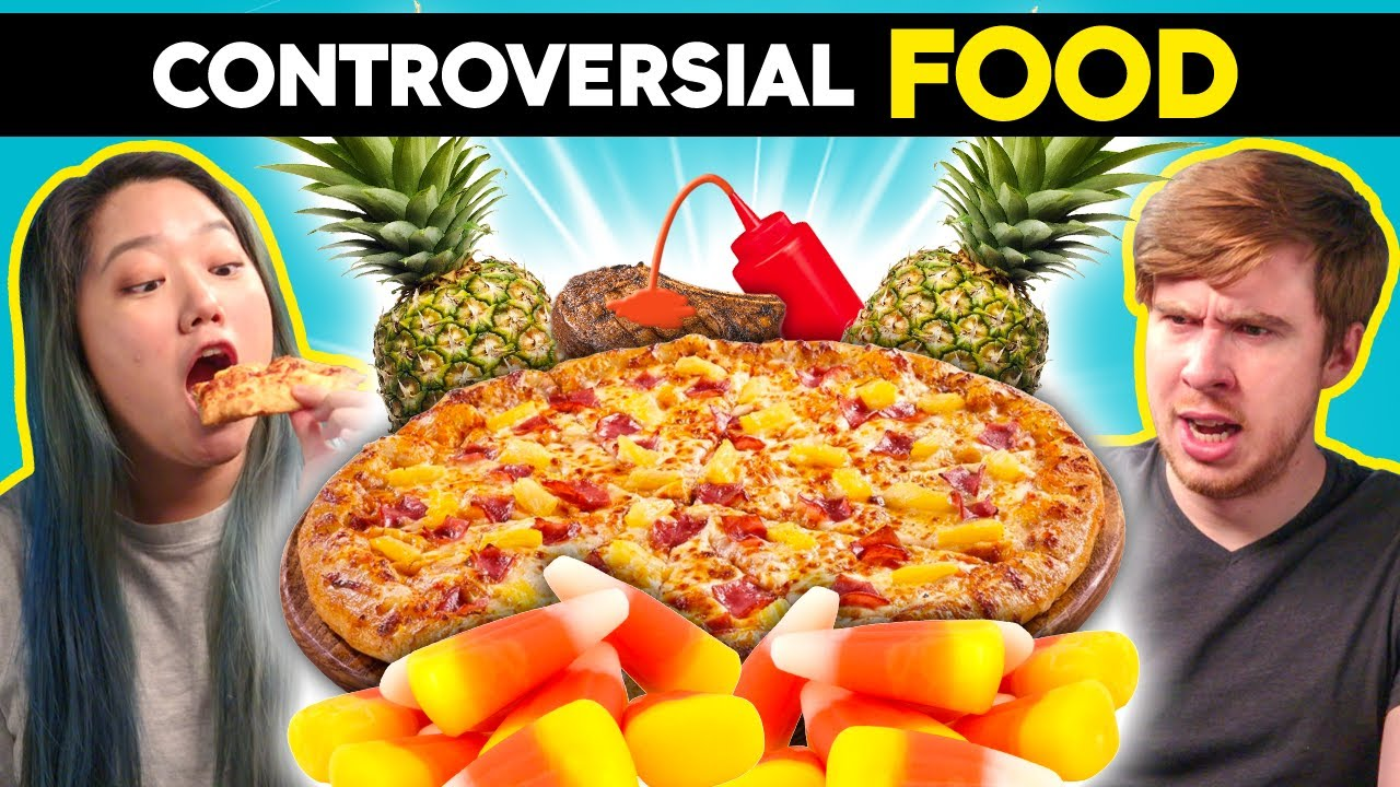 Adults React To Try Not To Get Mad Challenge: Controversial Foods (Pineapple On Pizza, Candy Corn)