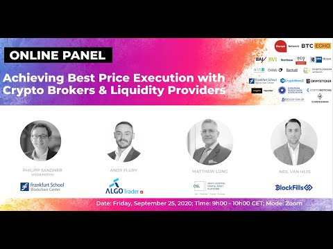 Achieving Best Price Execution with Crypto Brokers & Liquidity Providers