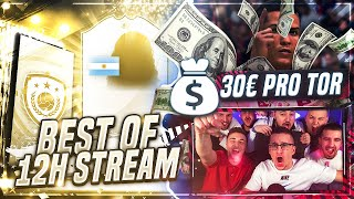 FIFA 19: 30€ pro TOR WETTE😂 BEST OF 12H CHARITY STREAM