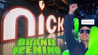 Nickelodeon Animation Studio Grand Opening Party ft. PITBULL | Butch Hartman
