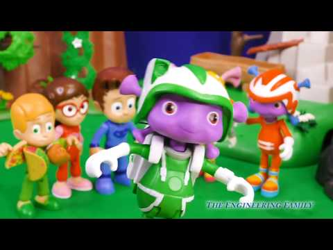 Romeo Hides Special Tools from PJ Masks and Floogals