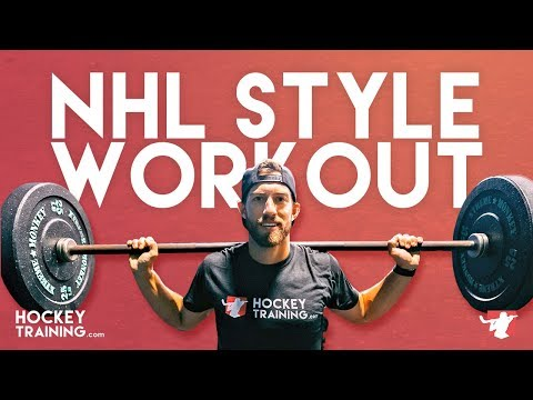 Train Like an NHL Player �� (Use This Workout This Season!)
