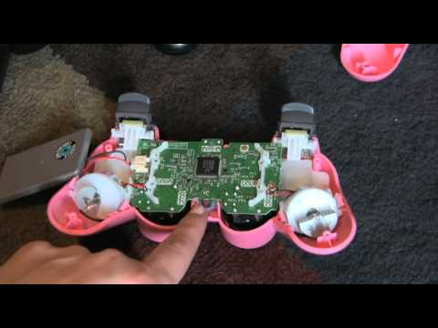 Quick PS3 controller FIX Buttons not working properly - YouTube