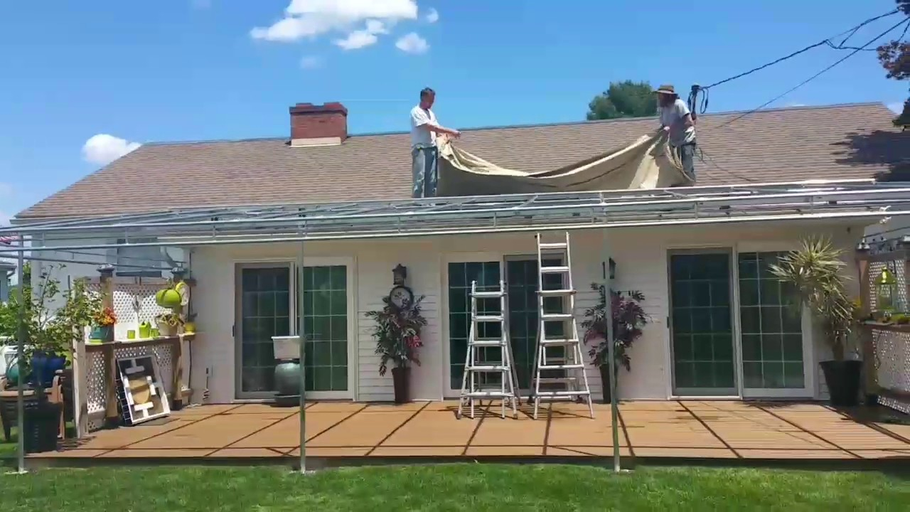 4 Season Fabric Patio Cover   Outdoor Living Expert