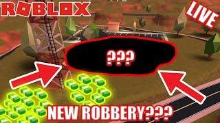 NEW MUSEUM Coming to Jailbreak [UPDATE] | 🔴 Roblox Jailbreak Live Stream