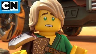 Stranded in the Desert of Doom | Ninjago | Cartoon Network