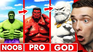 Leveling Up HULK Into GOD HULK In GTA 5 (Mods)
