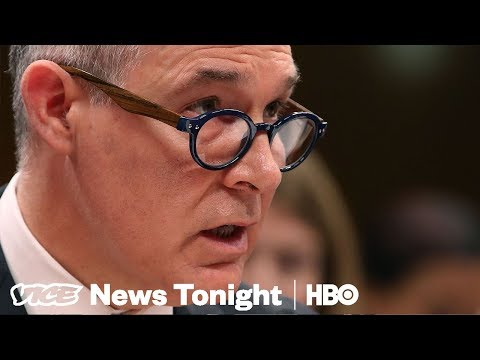 What It Was Like Inside The EPA When Scott Pruitt Resigned (HBO)