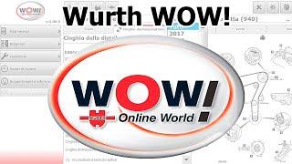 Обзор программы Wurth WOW! для диагностики авто. AutoData на Русском языке!