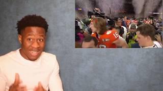 Clemson vs. LSU: CFP National Championship   College Football Highlights REACTION