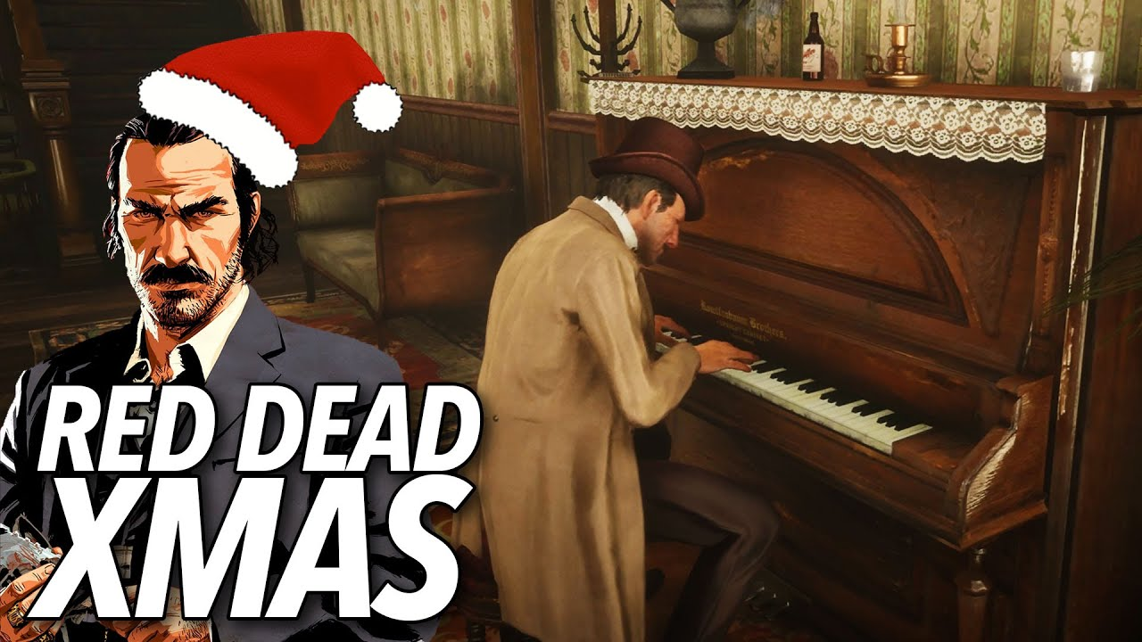 Play Christmas Music.Red Dead Online S Saloons Play Christmas Music