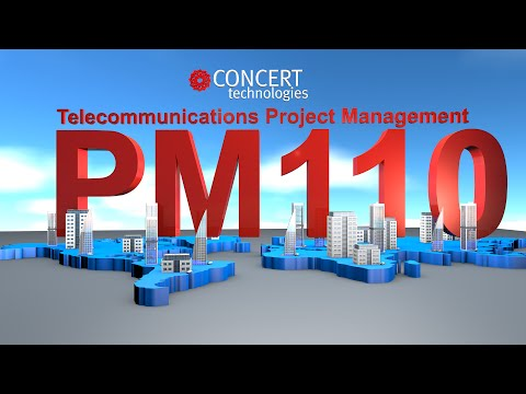 Telecommunications Project Management Course , BICSI PM110, Taught by Concert Technologies