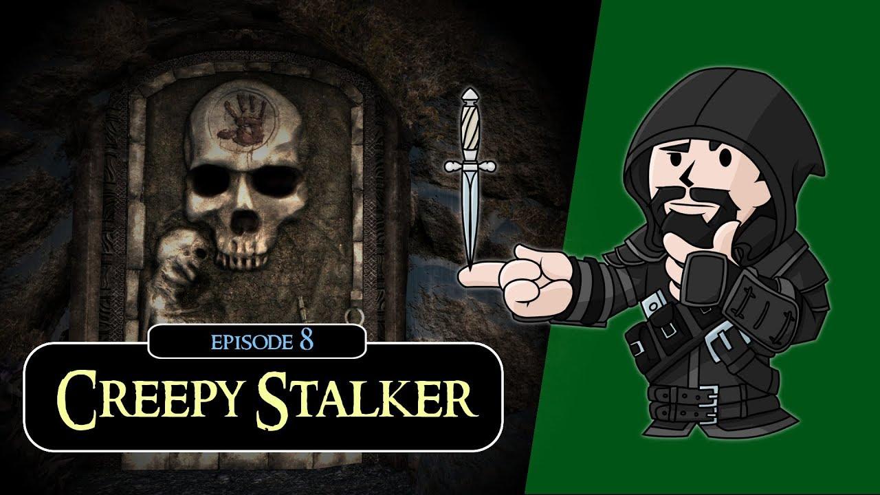 SKYRIM - Special Edition (Ch  2) #8 : Creepy Stalker - Vloggest