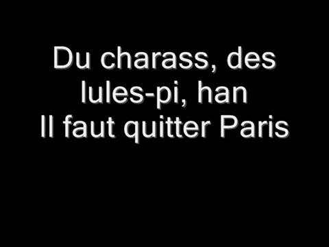 Le Club - La magie de Paris (Parole) !